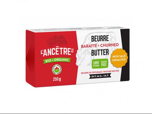Beurre baratté Bio