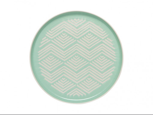 Assiette Imprint Mint