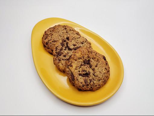 Biscuit aux pépites de chocolat vegan