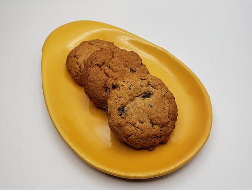 Biscuit à l'avoine et aux raisins