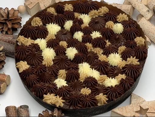 Gâteau Brownie Ganache 9