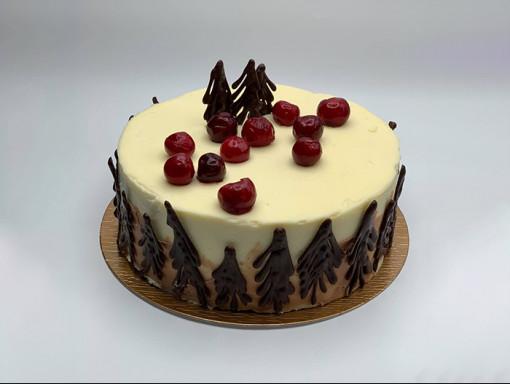 Gâteau 8'' - Style forêt-noire
