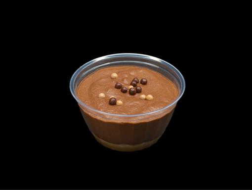 Mousse au chocolat Noir et Caramel Salé