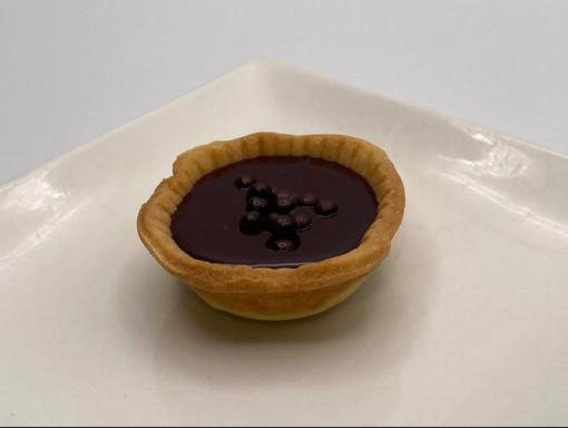 Mini Tartelette chocolat et caramel salé