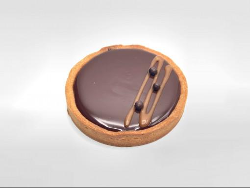 Tarte au chocolat et au caramel salÉ 5
