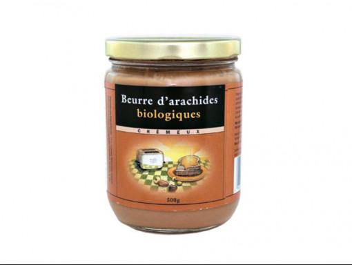 Beurre d'Arachide Crémeux Bio 500g