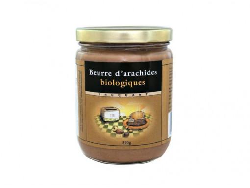 Beurre d'Arachide Croquant Bio 500g
