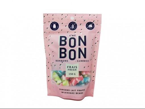 Bonbon oursons lait frappé