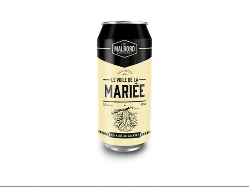 Bière Blanche - Le Voile de la Mariée 473ml