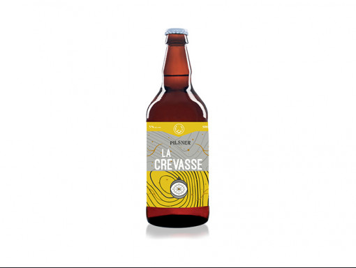 Bière Blonde Pilsner - La Crevasse 500ml