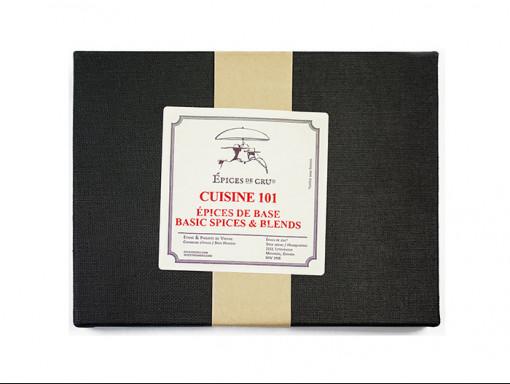 Coffret Cuisine 101 (Épices de base)