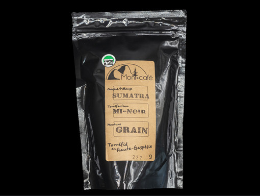 Café Sumatra Mi-Noir 227g