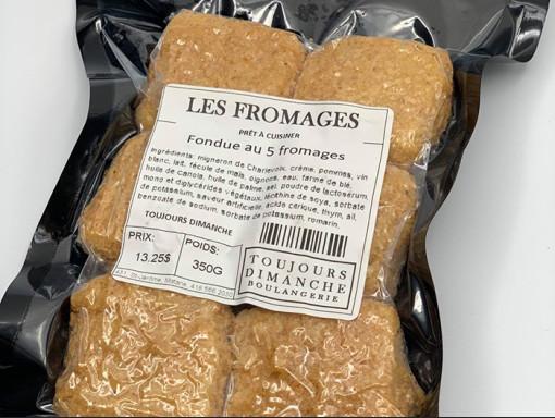 Fondue style parmesan Au 5 Fromages