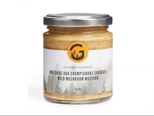Moutarde Aux Champignons Sauvages 190ml