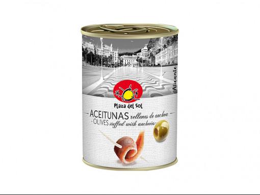 Olives Farcies aux Anchois 250ml