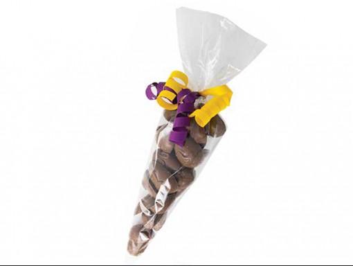 Cone d'oeufs en chocolat