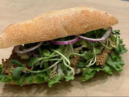 Sandwich au végépâté maison