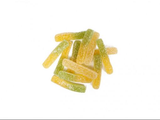 Frites aux fruits gelées