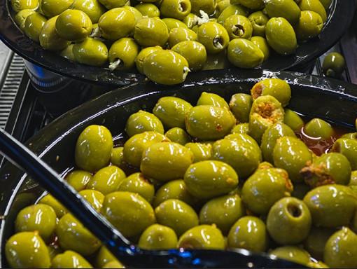 Olives et antipastis