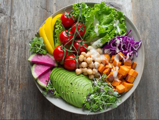 Produits végétariens et végétaliens