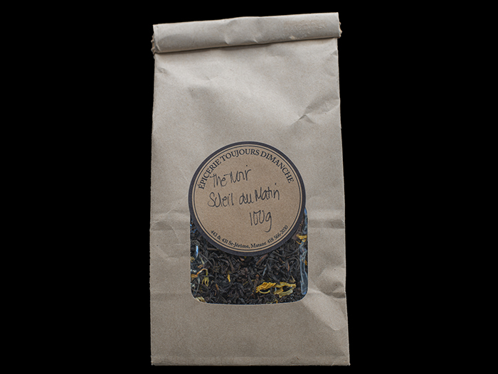 Thé Noir Soleil du Matin